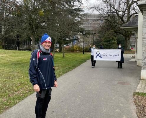 Rob Completes his half Marathon